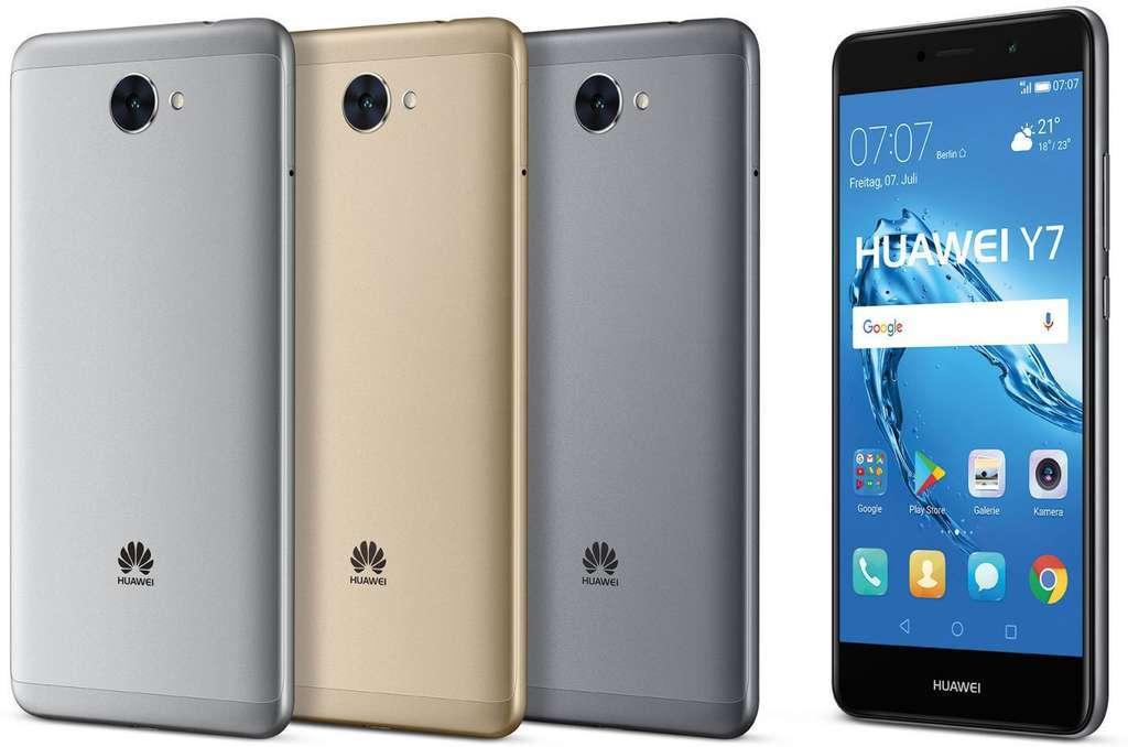 Huawei Y7 цвет