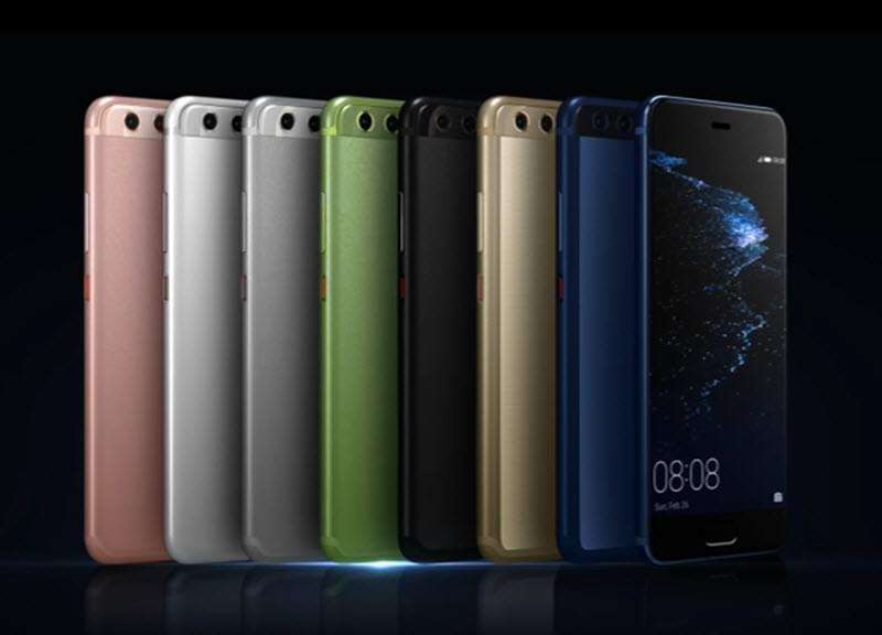 Huawei P10 plus цвета
