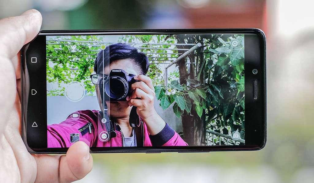 Lenovo K6 Note камера