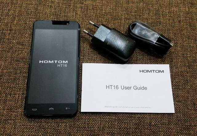 Doogee HomTom HT16 Pro комплектация