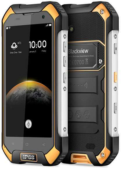 Blackview BV6000s дизайн