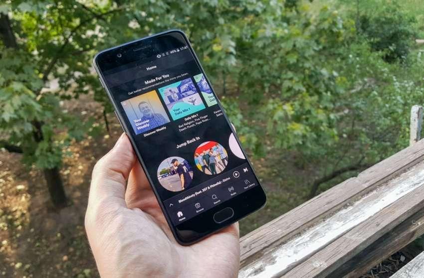 OnePlus 5 дисплей