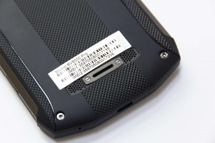 Blackview BV8000 Pro динамик