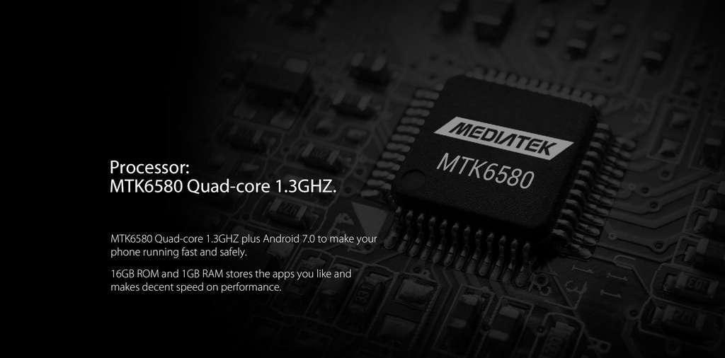 Blackview R6 Lite процессор