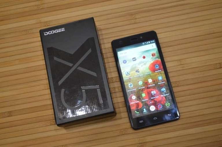 Doogee X5 коробка