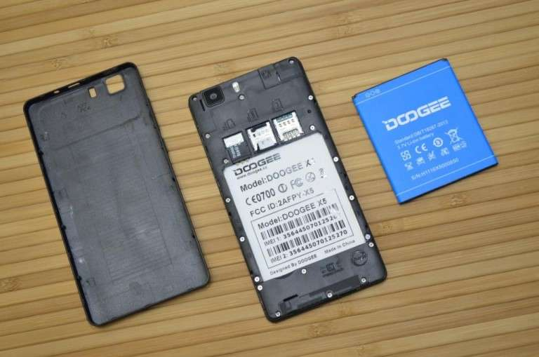 Doogee X5 аккумулятор