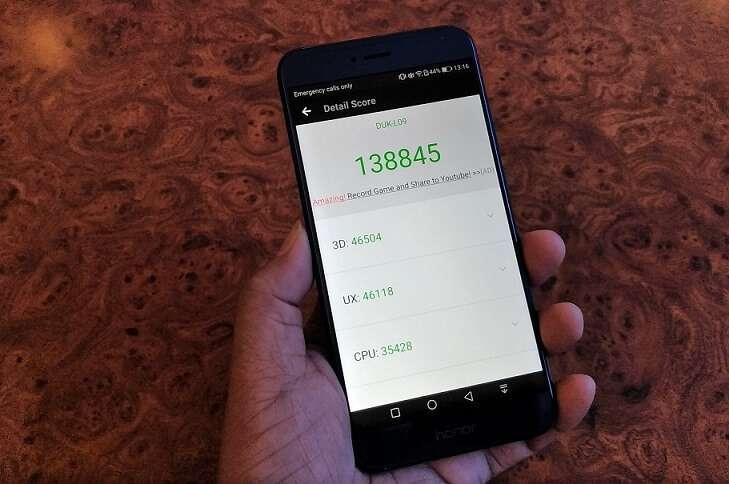 Тест AnTuTu Huawei Honor V9
