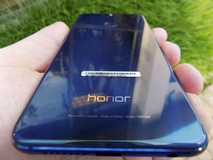 Huawei Honor 8 Lite задняя панель