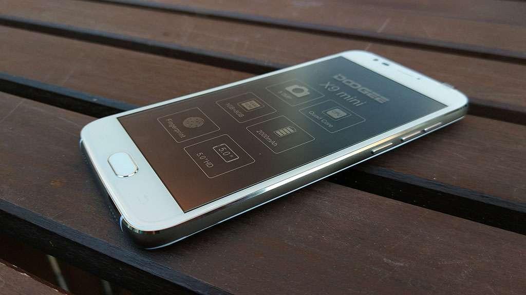 Doogee X9 Mini экран