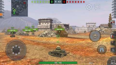 Blackview R6 игра World of Tanks