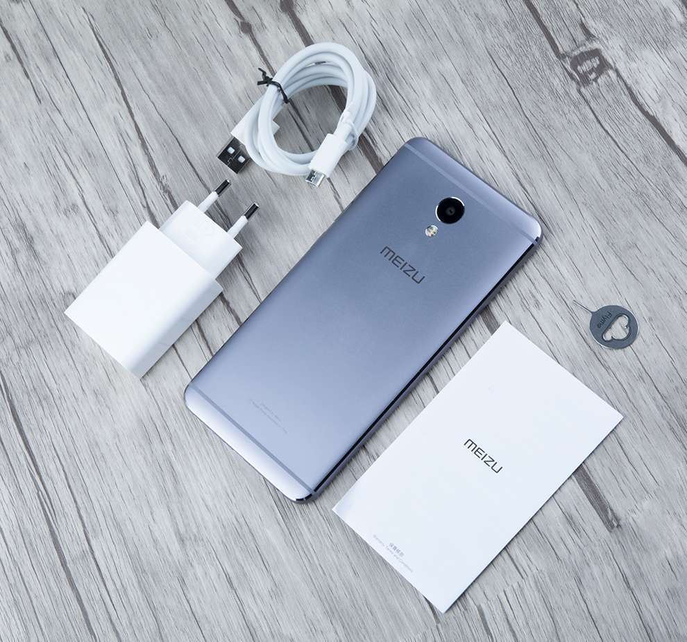 комплект поставки Meizu M5 Note