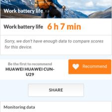 Huawei Y6 Pro время работы батареи