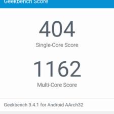 Lenovo Vibe C2 Power тест Geekbench
