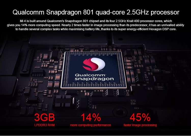 Четырехядерный процессор Shapdragon 801.