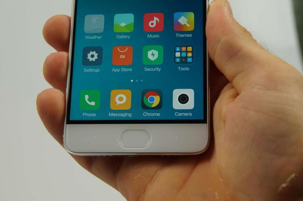 Xiaomi Mi5S кнопка