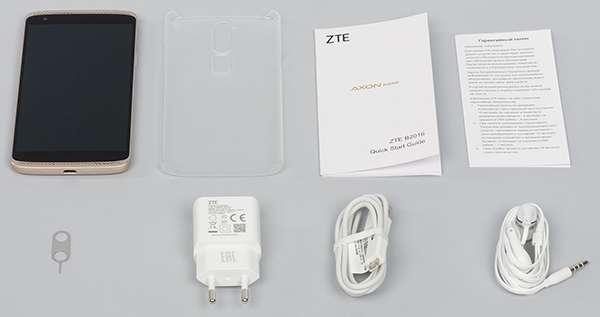 ZTE Axon 7 Mini комплектация