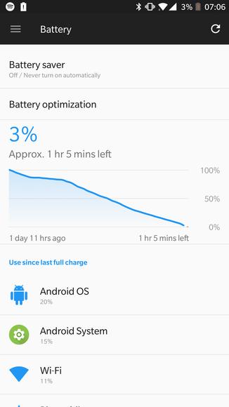 OnePlus 5 Аккумулятор