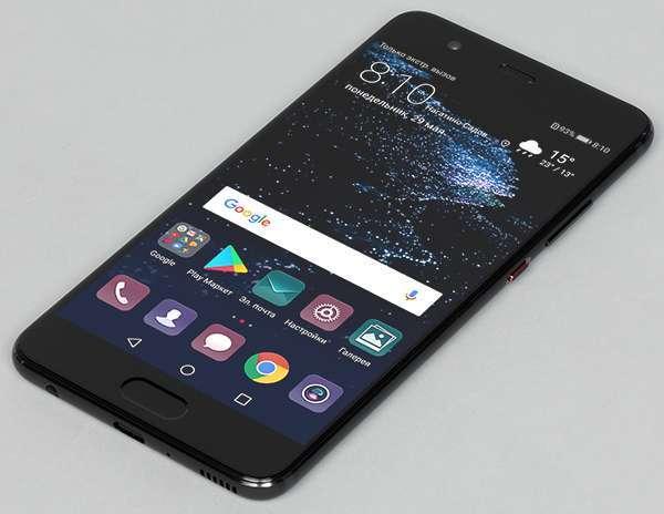 Huawei P10 plus дисплей