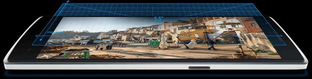 Углы обзора OnePlus One