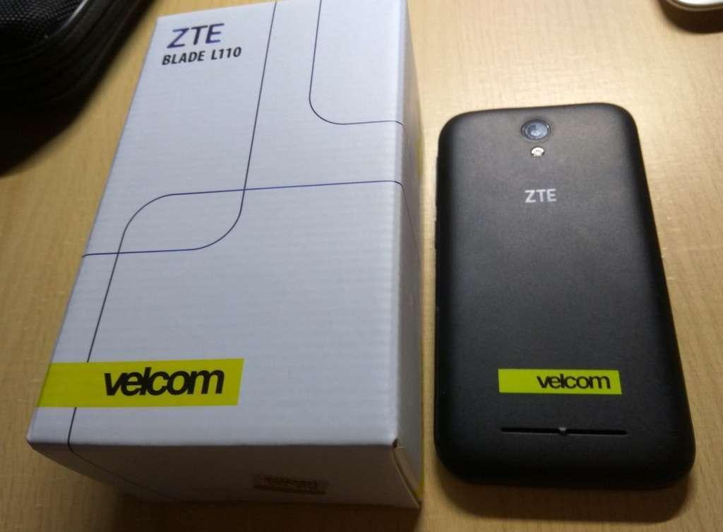 ZTE Blade L110 коробка