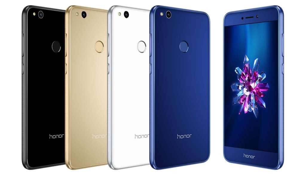 Huawei Honor 8 Lite цвет