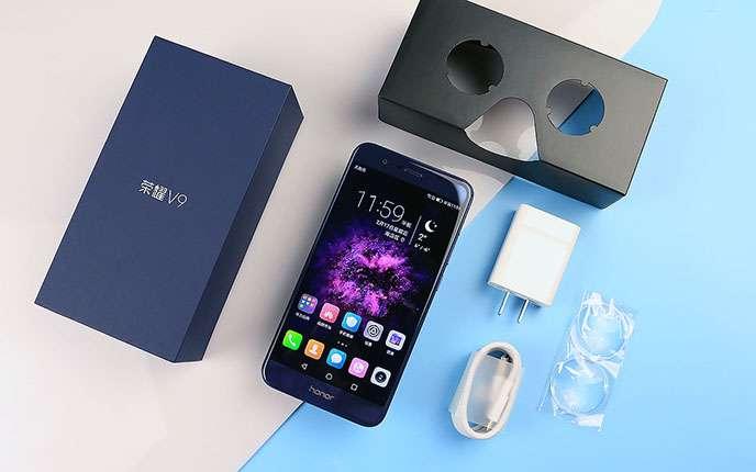Комплектация Huawei Honor V9