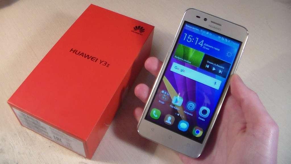 Huawei Y3 комплектация
