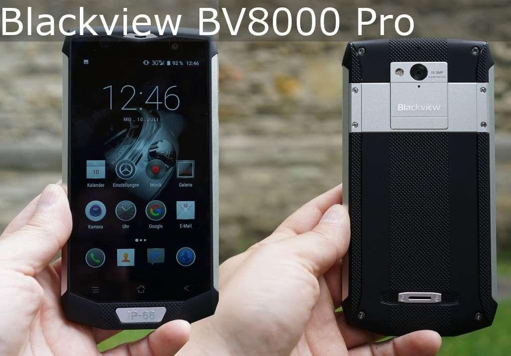 Blackview BV8000 Pro дизайн