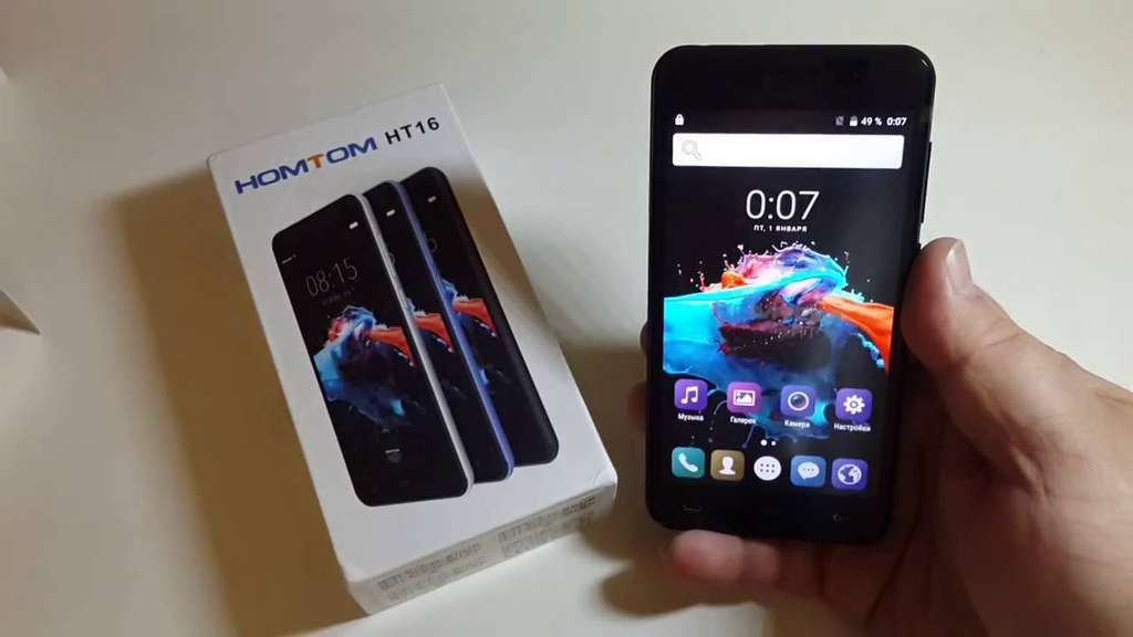 Doogee HomTom HT16 Pro дисплей