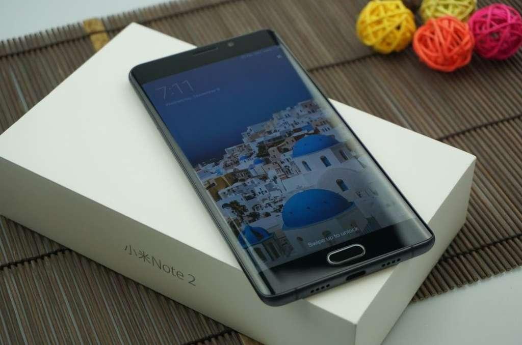 Коробка от Xiaomi Mi Note 2