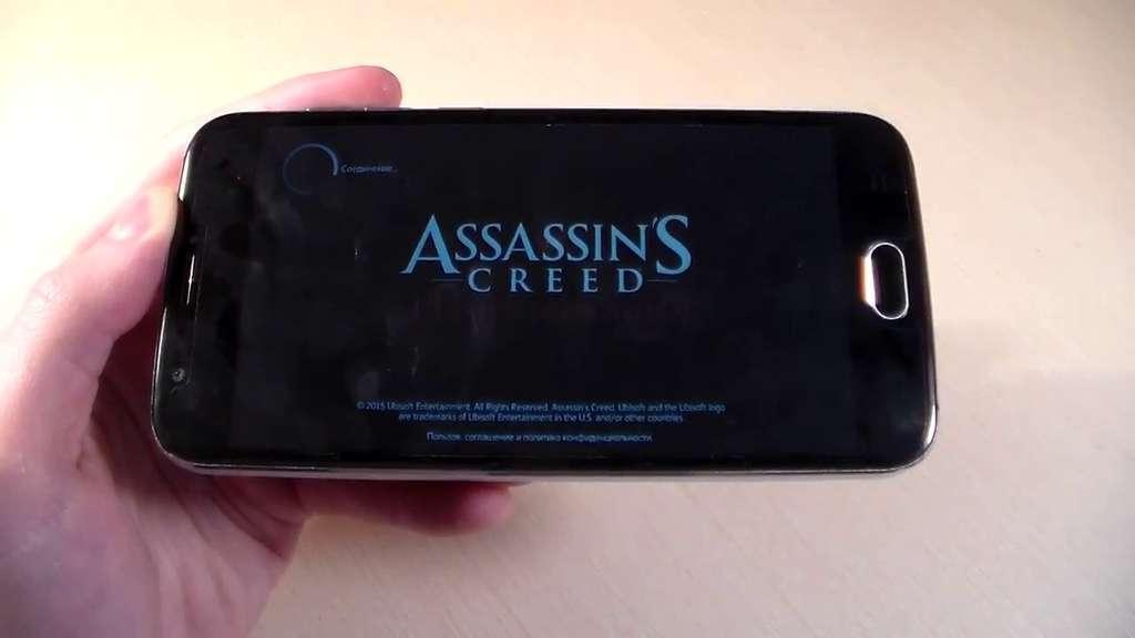 Doogee X9 Mini игра Assassin's Creed