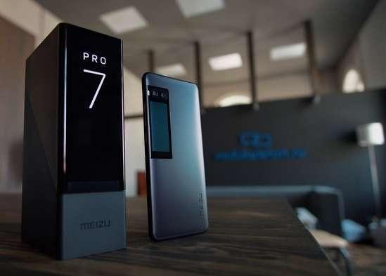 упаковка флагманского смартфона Pro 7