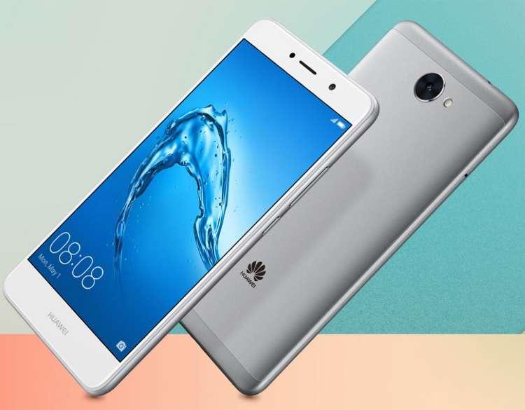 Huawei Y7 дизайн