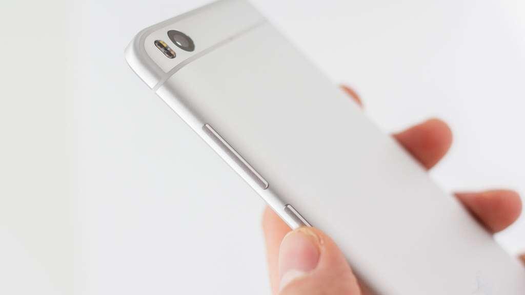 Xiaomi Mi5S боковая грань