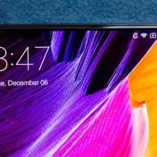 Xiaomi Mi Mix дизайн