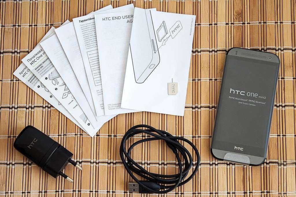 комплектация HTC One Mini 2