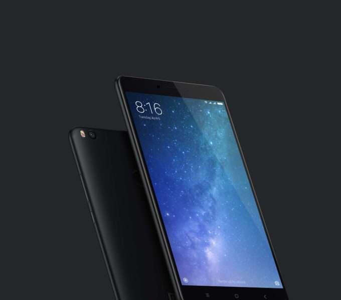 дизайн Xiaomi Mi Max 2