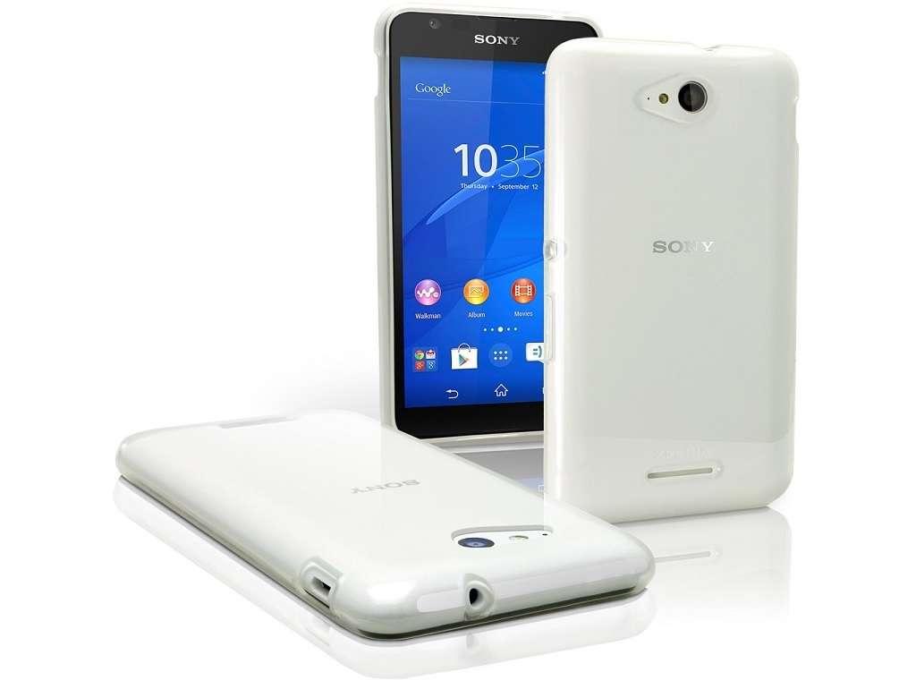 Sony Xperia E4g дизайн
