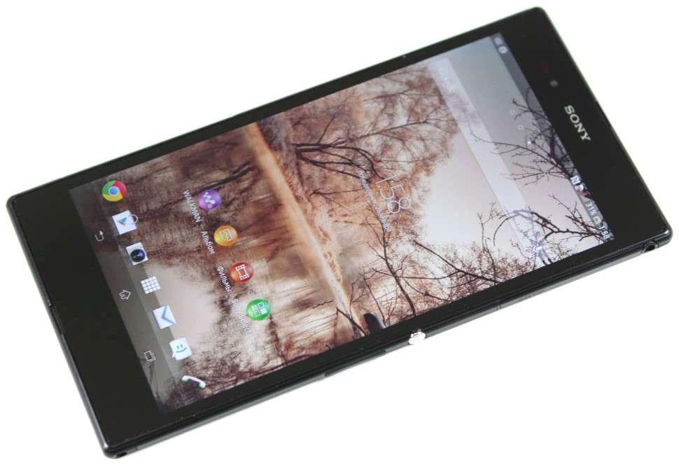 Sony Xperia Z Ultra дисплей