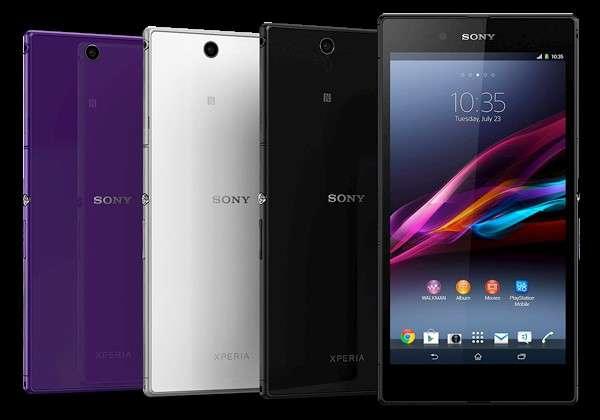Sony Xperia Z Ultra цвет