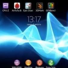 Sony Xperia Z Ultra интерфейс