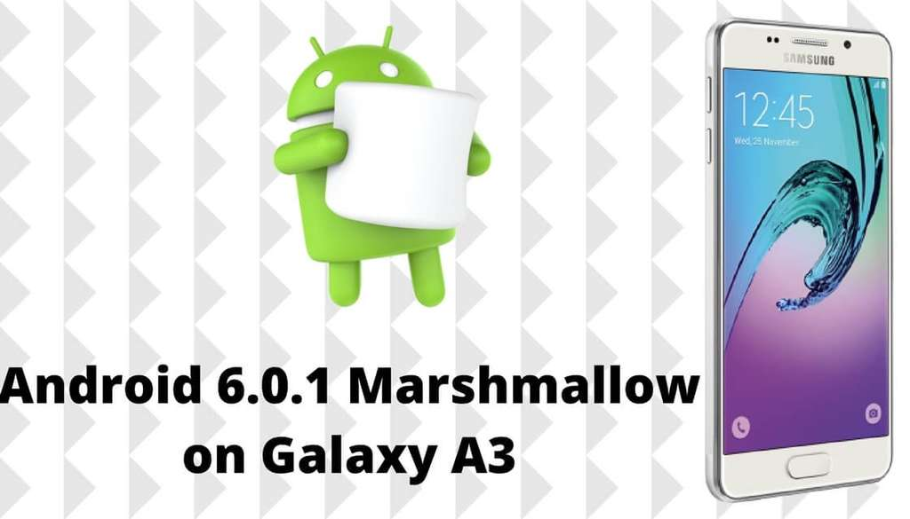 Samsung Galaxy A3 Android 6.0.1
