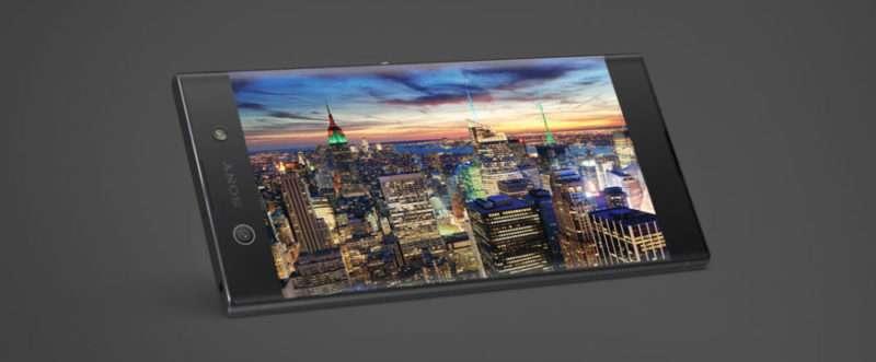 Sony Xperia XA1 Ultra дисплей