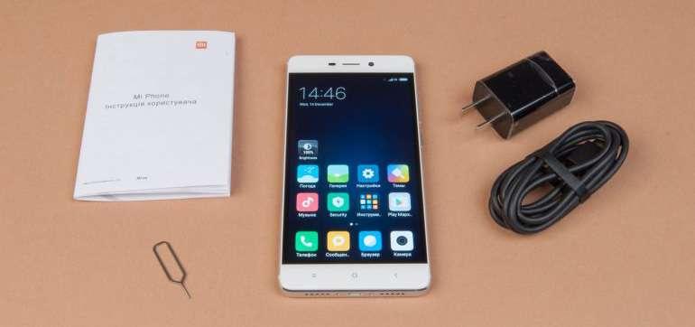 Xiaomi Redmi 4 комплект поставки