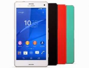 Sony Xperia Z3 Compact цвет