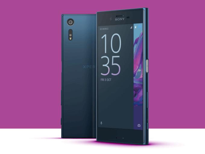 внешний вид Sony Xperia XZ1