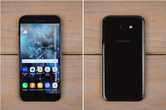 Чёрный Samsung Galaxy A7