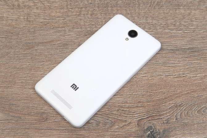 Xiaomi Redmi Note 2 тыльная сторона