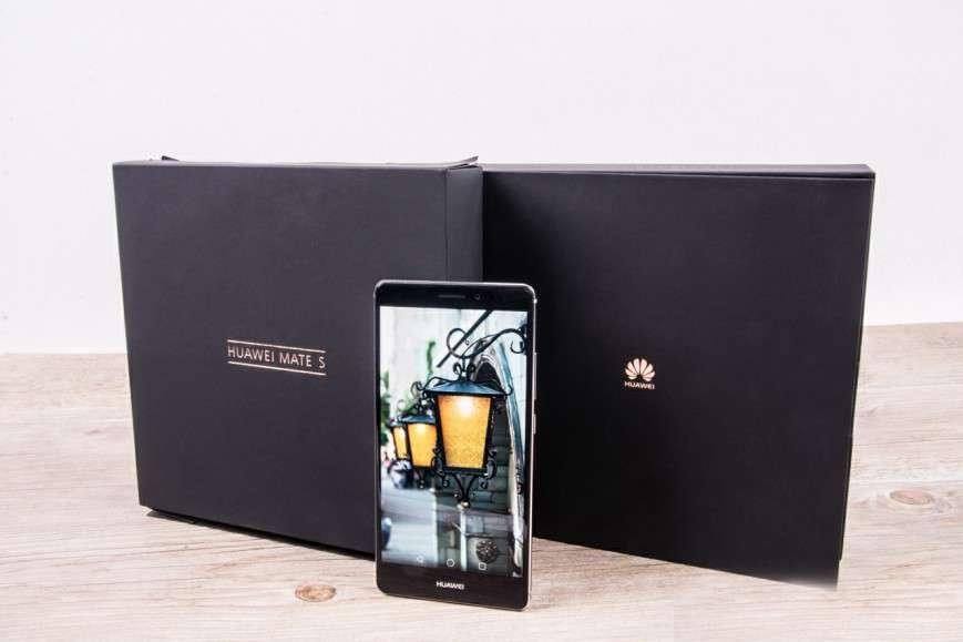 Huawei Mate S упаковка