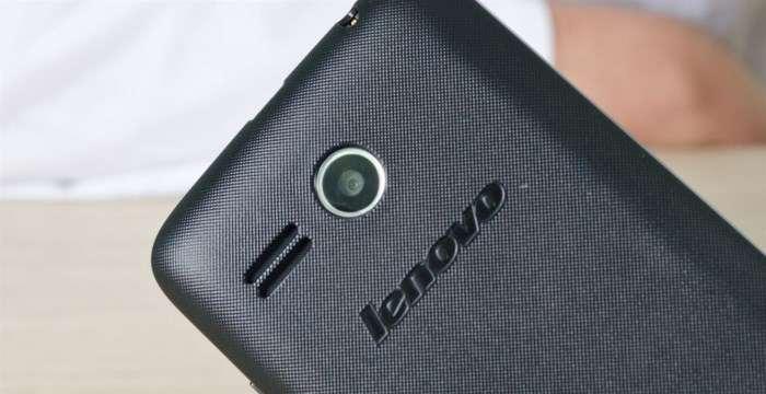 Lenovo A316i Основная камера